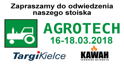 Firma KAWAH na Targach AGROTECH 2018